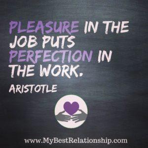 Pleasure in the job