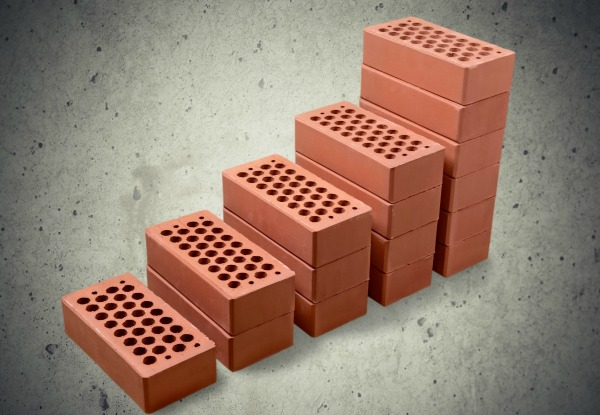 Bricks stacking up